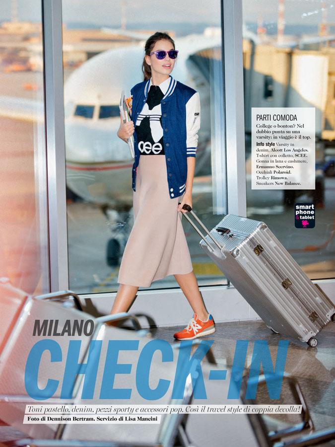 Cosmopolitan Italy -Milano Check-In