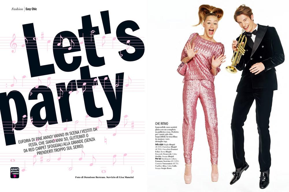 Cosmopolitan Italy -Let's Party