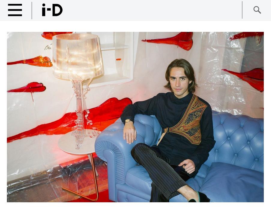 i-D Magazine - Nicolò Beretta