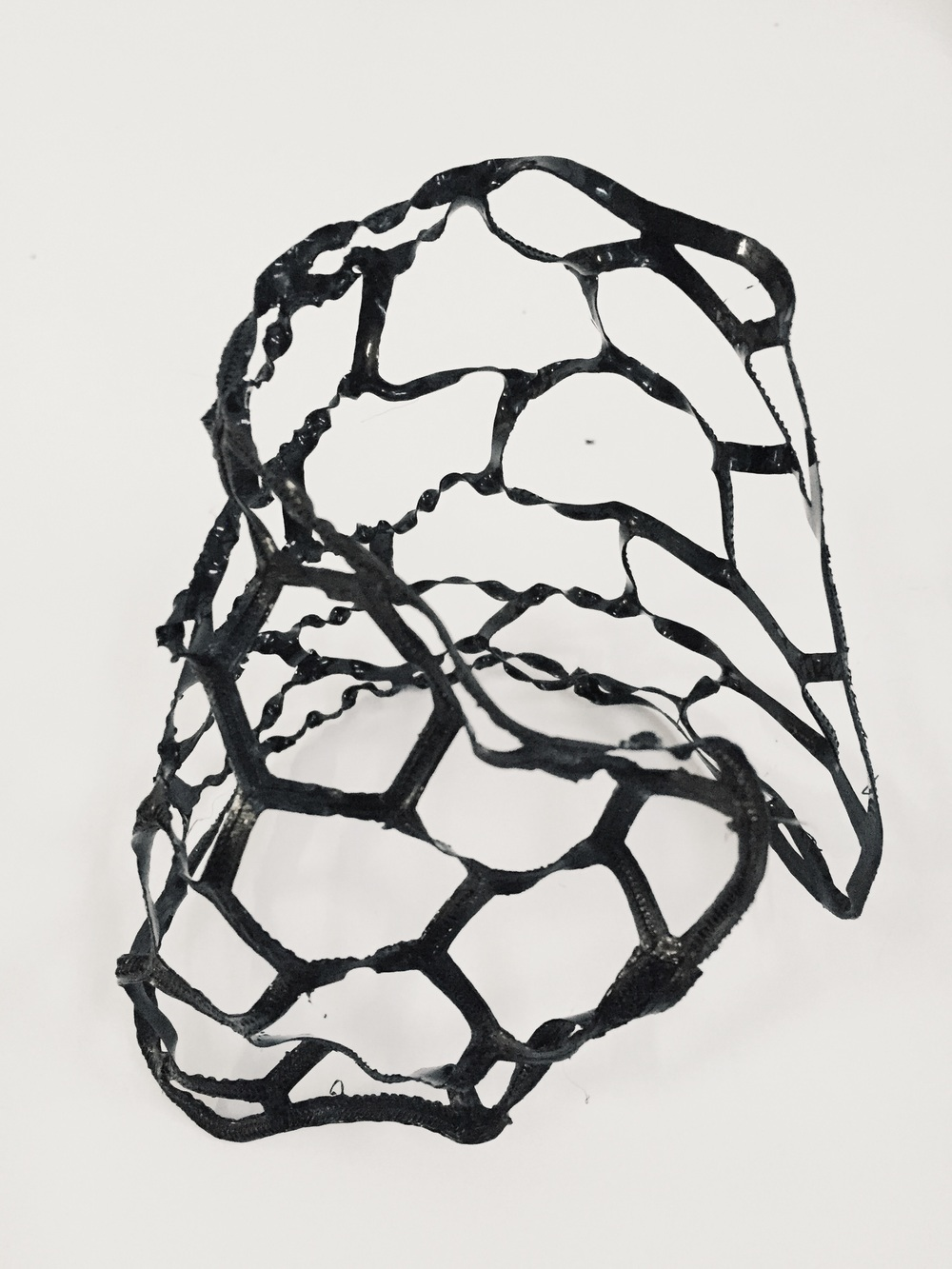 Post print deformation sculpture