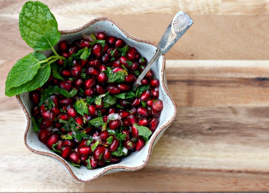 Cranberry Mint Relish Bon Appetit