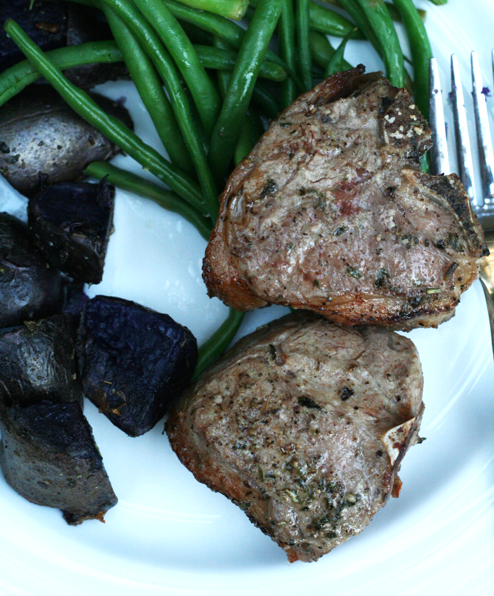 Broiled Lamb Chops with Herbs de Provence
