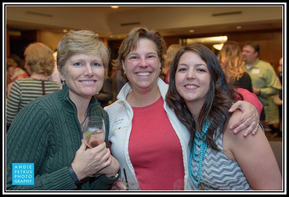 Karen Sjolund, Urban Nest Agent Tina Schafer, P.C., and Urban Nest Agent Lindsay Robbins