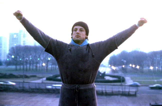 Rocky Balboa: The Heart of a Champion.