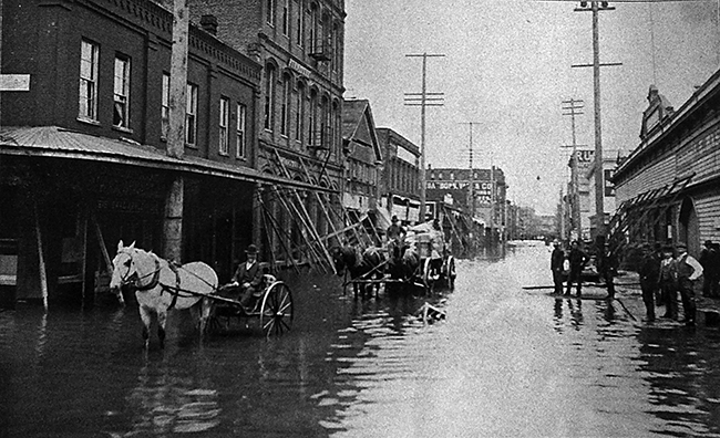 The 1894 Flood of Downtown PDX