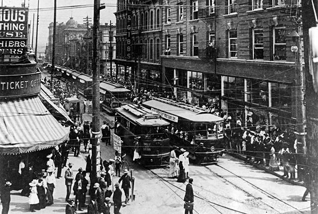 Classic Street Scenes from a Bygone Era in Portland