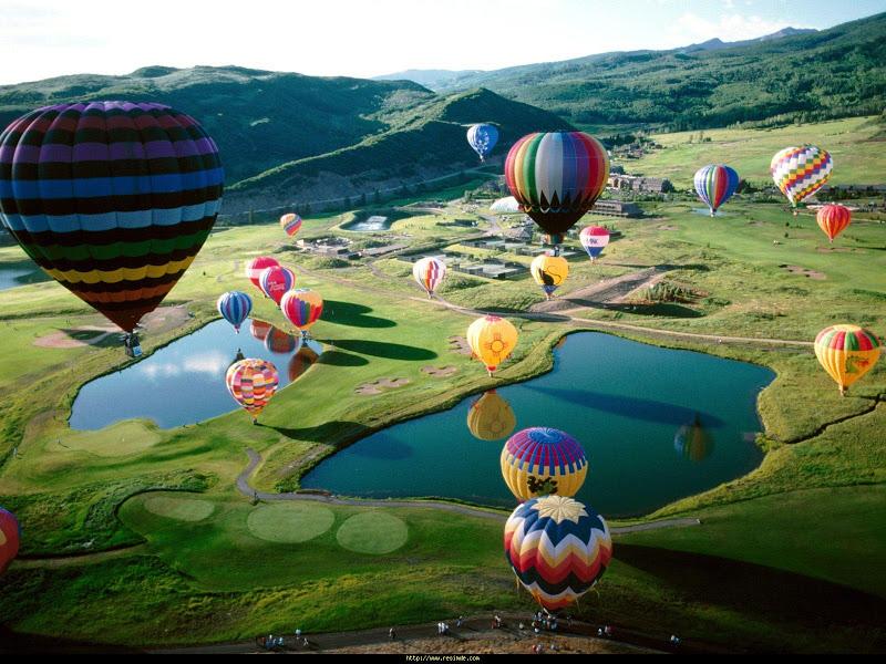 The Hot Air Balloon Festival in Tigard