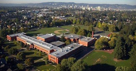 Grant High School in Portland's Sabin Neighborhood