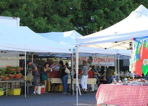 Northwest Farmers Market in PDX