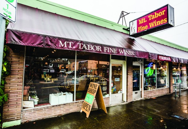 Mt. Tabor Fine Wines in the SE of Portland