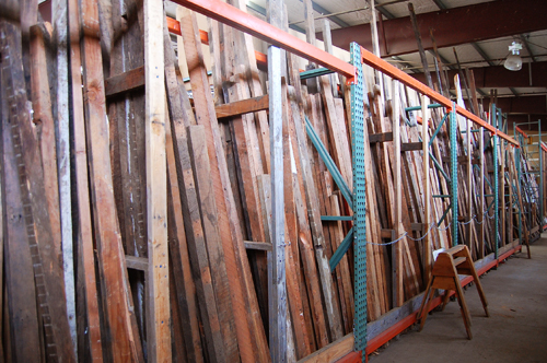 Some of the Best Reclaimed Housing Wood in PDX