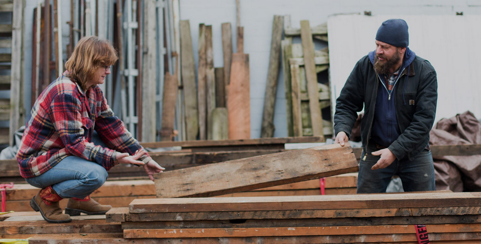 Building Stuff at PDX's Salvage Works