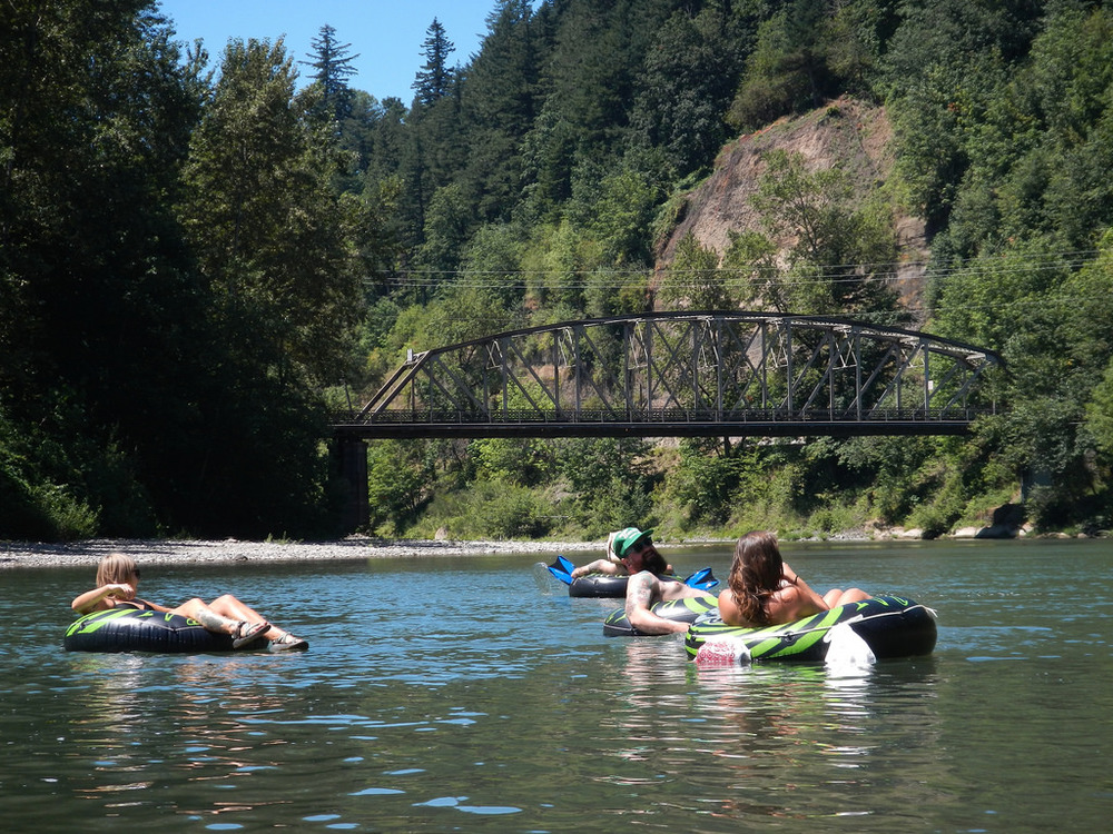 Floating the Sandy River. Maybe Not for Little Ones?