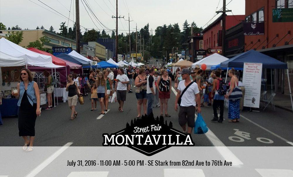 Montavilla Street Festival, July 31!