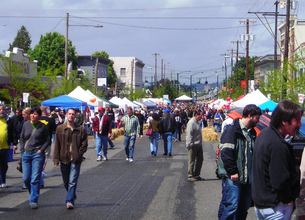 Kenton Street Fair, Courtesy of Historic Kenton