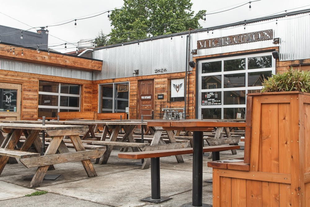 Looking for a Great Patio on a Sunny Day in PDX? Migration Has You Covered