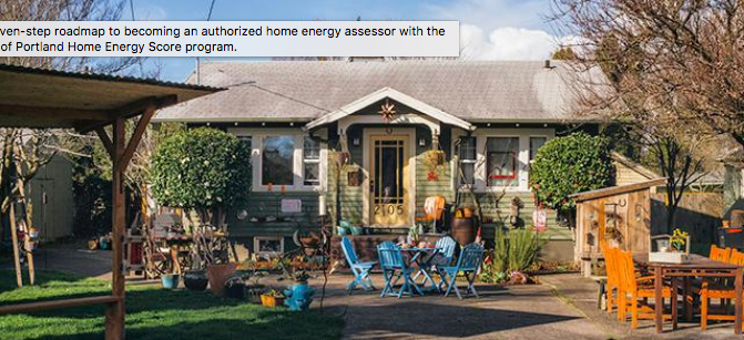 Home Energy Score Portland
