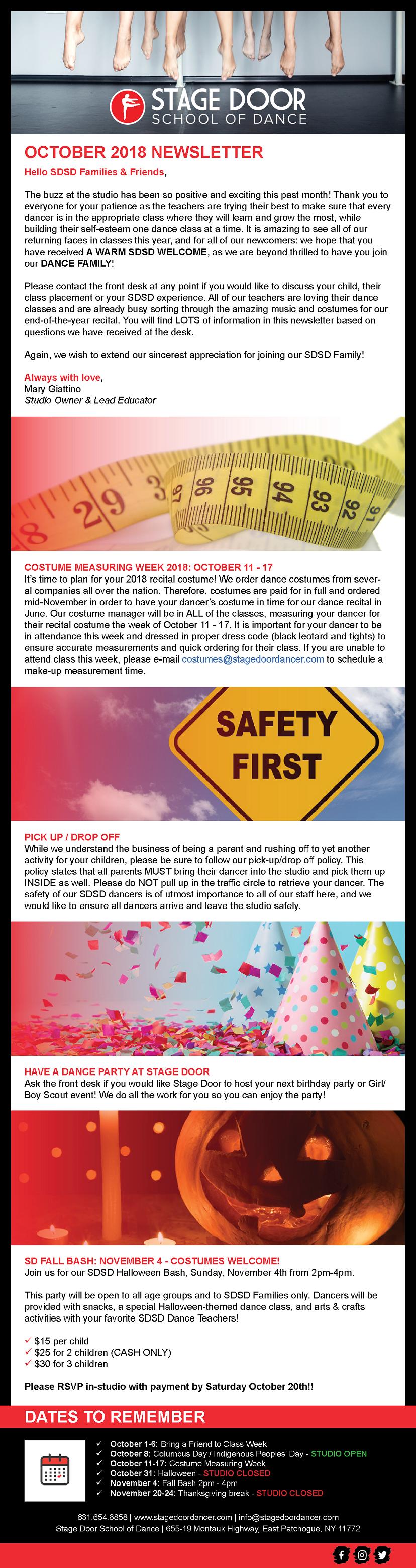 Stage Door - Newsletter - October 2018 - Website Edition.png