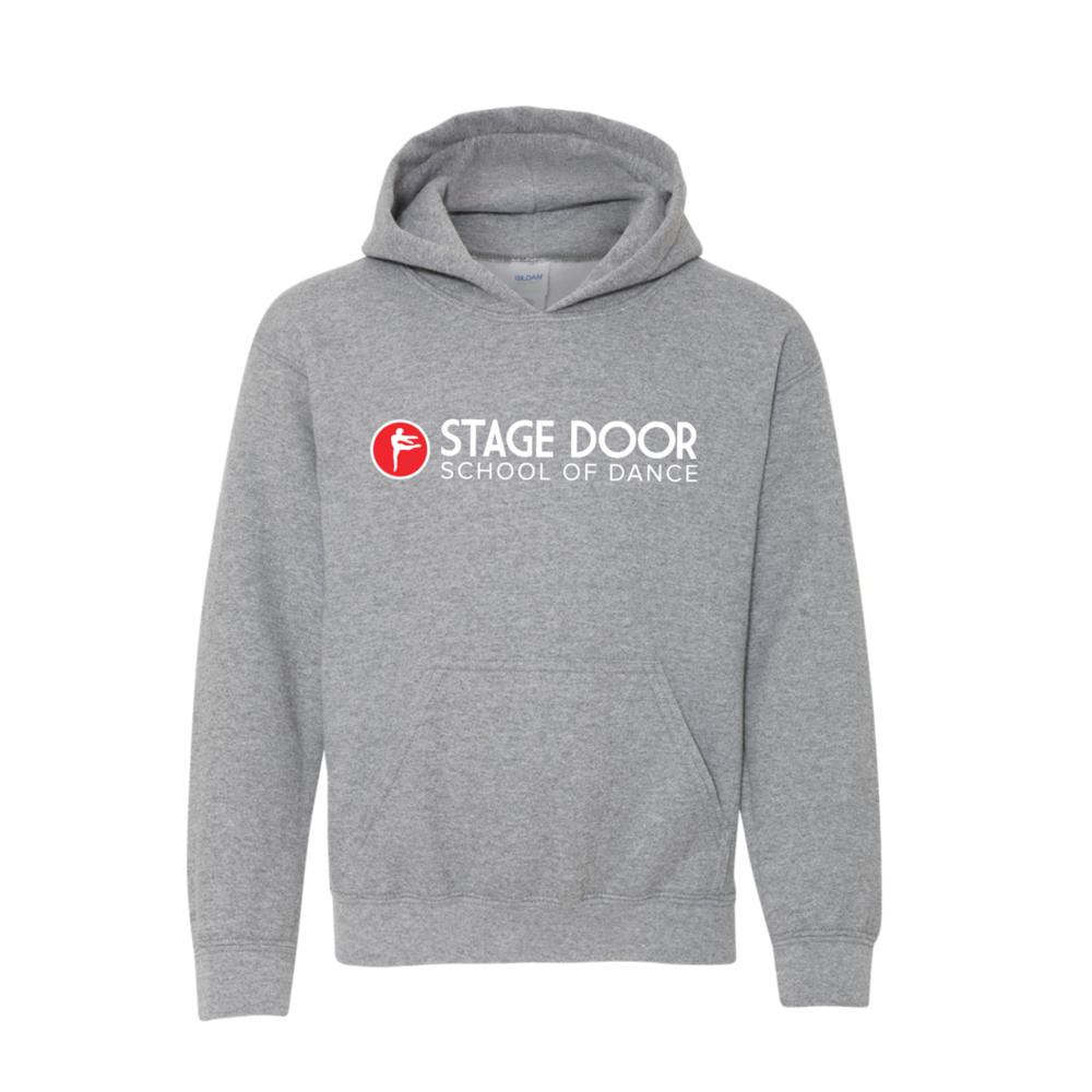 Stage Door School of Dance - Merch - Grey Kids Hoodie.png