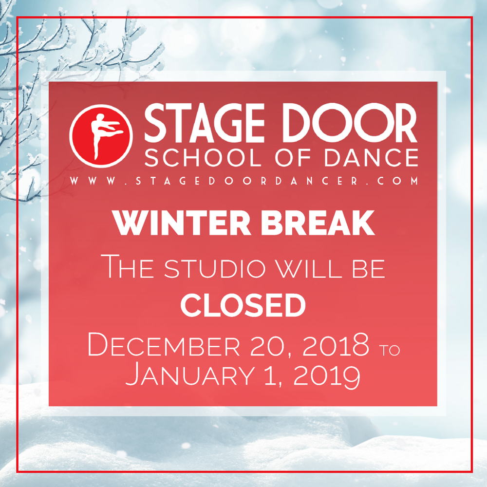 Stage Door -Winter Break - Dec 20 - Jan 1 - Studio Closed.png