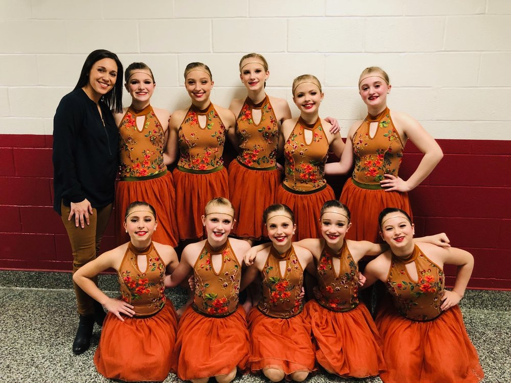"""YDC / JR. D Modern Company - """"SHALLOW"""" with choreography by Miss Stephanie Vertichio"""