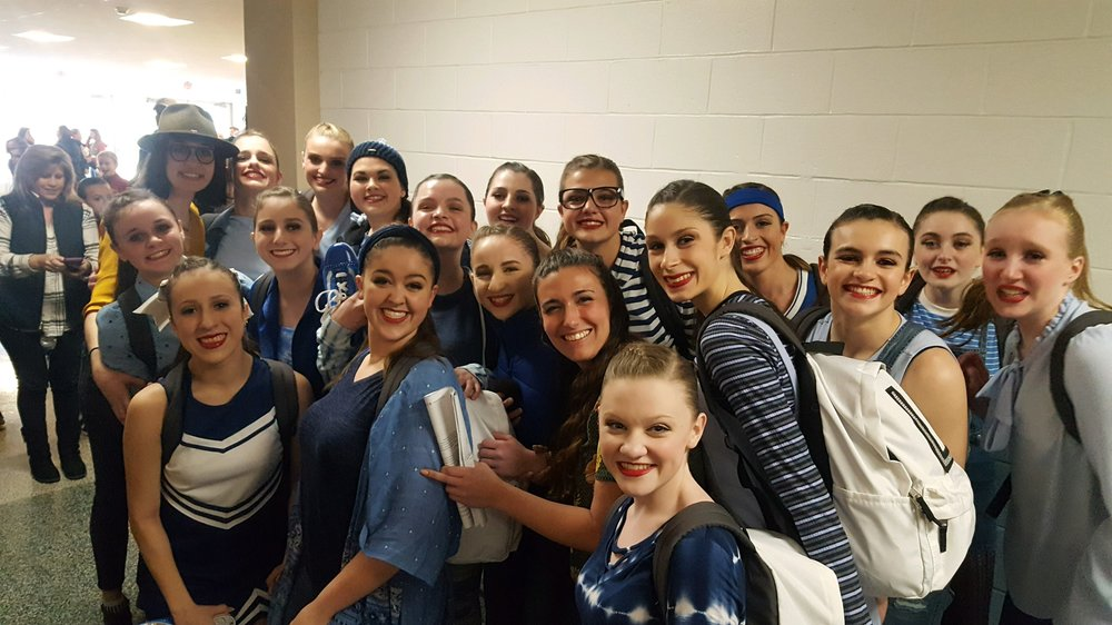 """Senior Tap Company - """"WAVING THROUGH A WINDOW"""" with choreography by Miss Mary Giattino. (WINNER of Best Tap Routine for the Weekend)"""