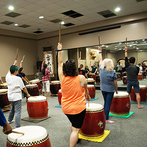 Intro to Taiko Workshop - April 2016