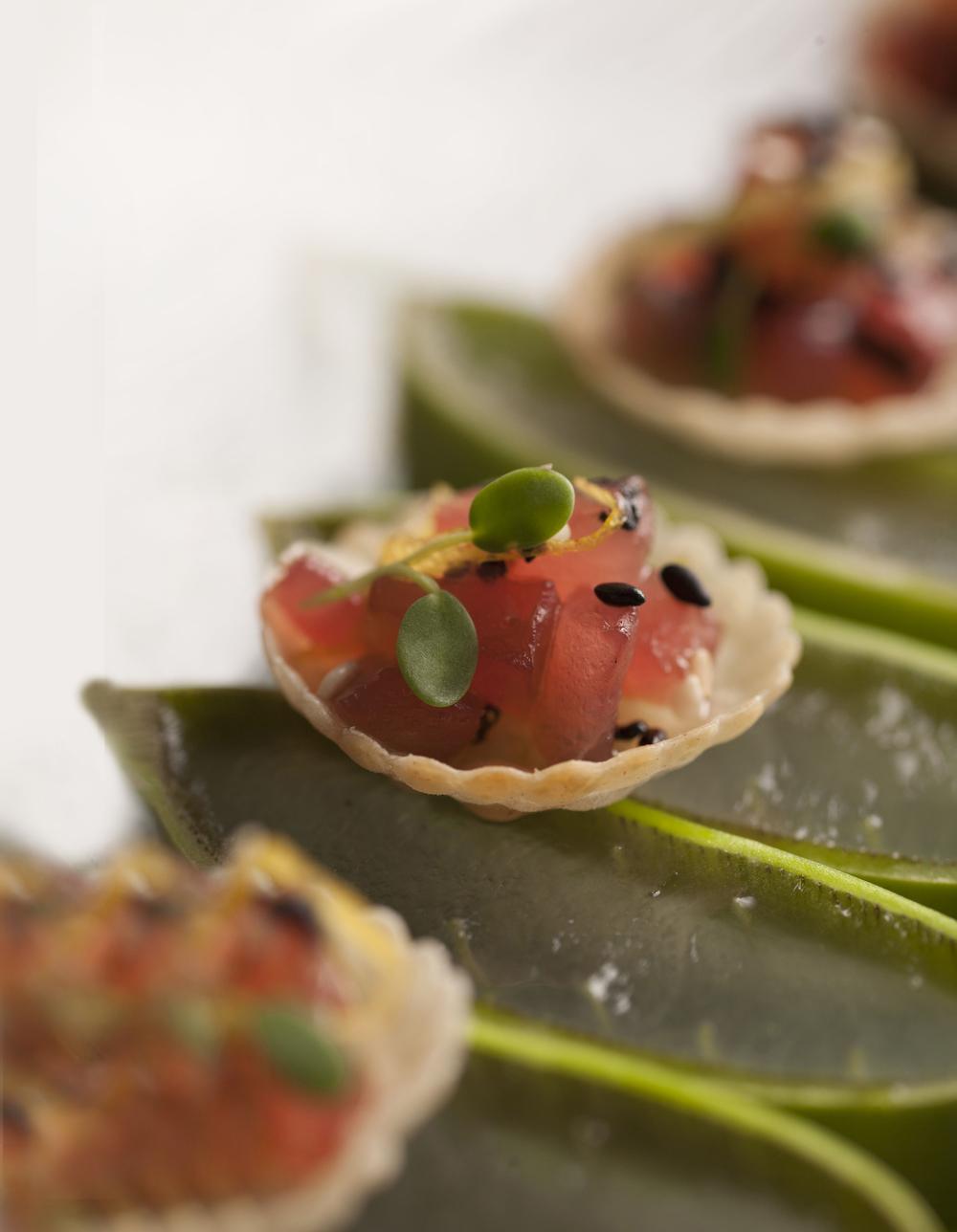 Ahi Poke Tuna, Meyer Lemon, Avocado Pearls, Wonton crisps_EDITED.jpg