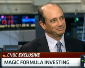 Joel Greenblatt Magic Formula CNBC
