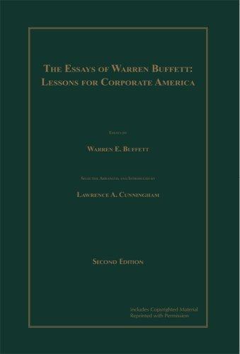 The Essays of Warren Buffett: Lessons for - Barnes & Noble