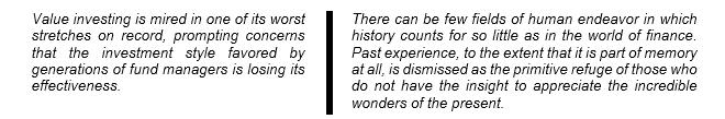 Wall Street Journal, August 2017  J.K. Galbraith, A Short History of Financial Euphoria