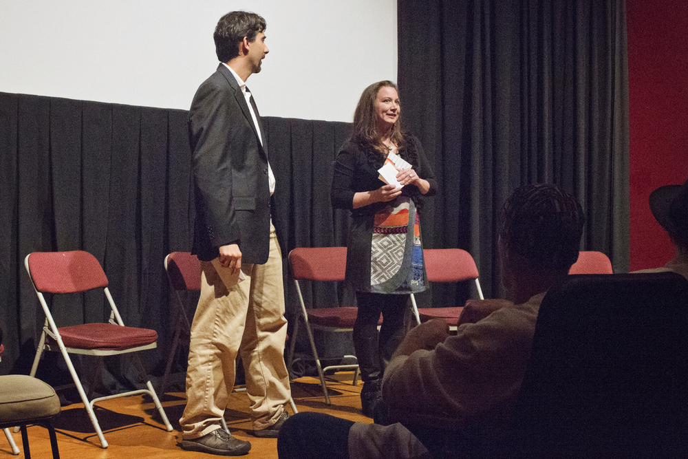 James Richter and Susan Maughlin Wood of Seattle Composers Alliance