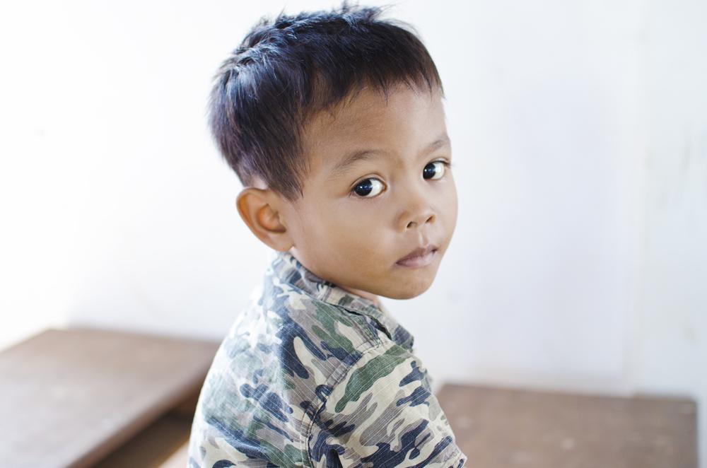 Chang How before his life-saving surgery.