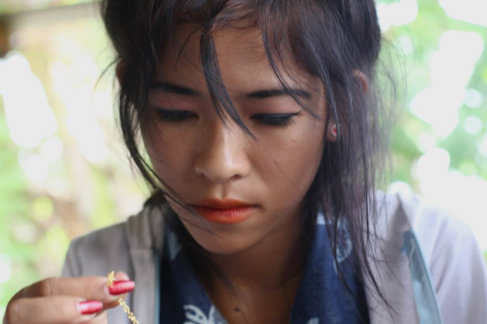 Srey Pich, before she went missing.