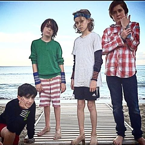 #beachboys in their #Ragcuffs #Malibu #style #mixandmatch #stripes #squadgoals #handsome #friendsforlife #california #boyswearthemtoo thanks @lucindalent for the 📷 ❤️