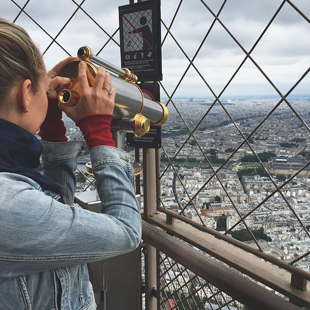 We spotted #ragcuffs overlooking Paris ❤️ #fall #coming #weareready