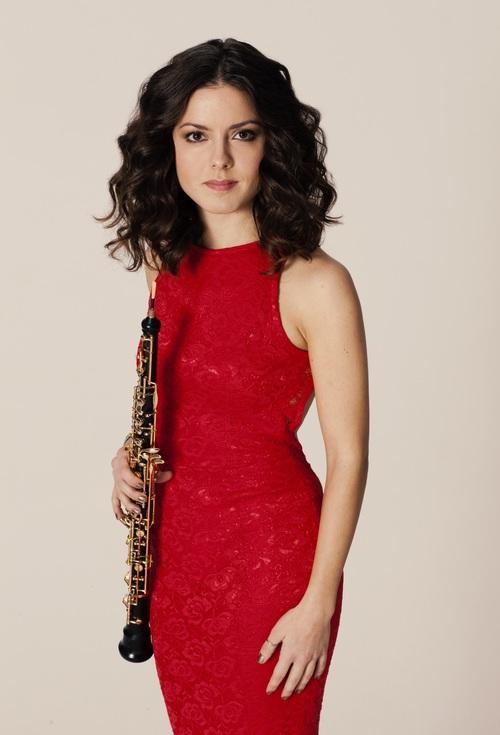 Cristina Gómez-Godoy<br>Oboist