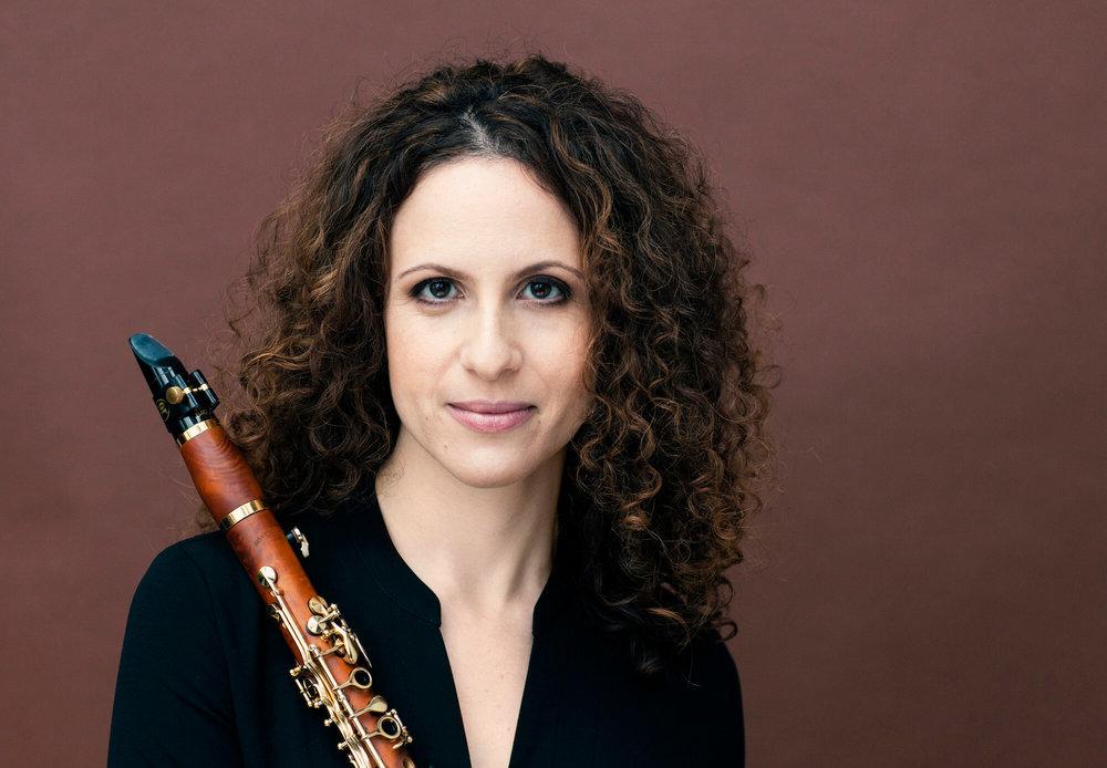 Shirley Brill<br>Clarinetist