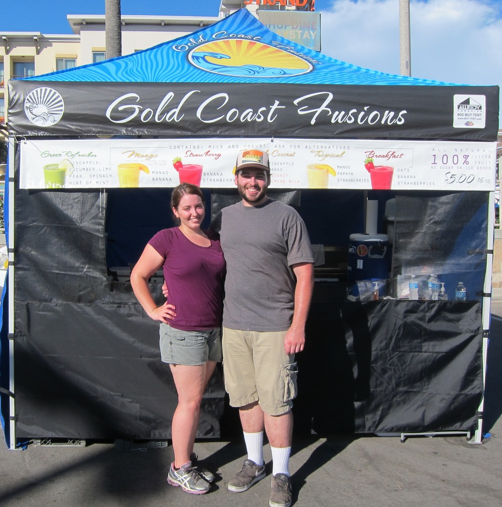 Gold Coast Fusions owners Christina Massari and Shane Gallick  (Photo by Lauren Lloyd)