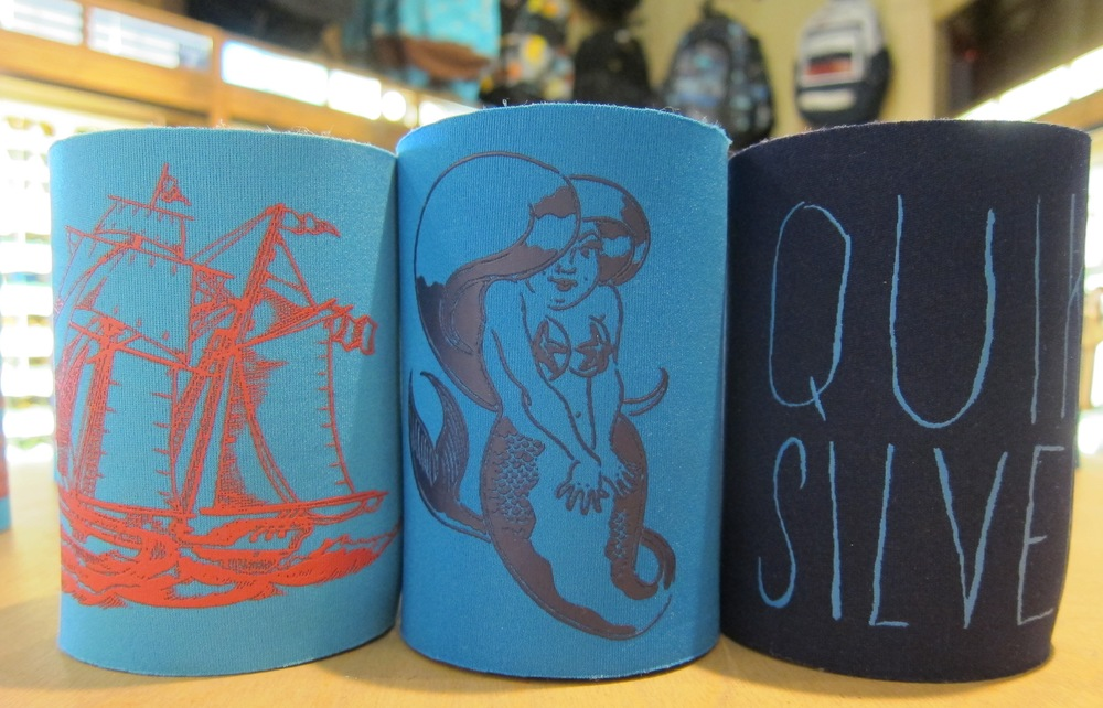 Quiksilver  proudly calls HB home, and we call these $7 koozies essential for any time of year. You can never own too many.  (Photo by Lauren Lloyd)