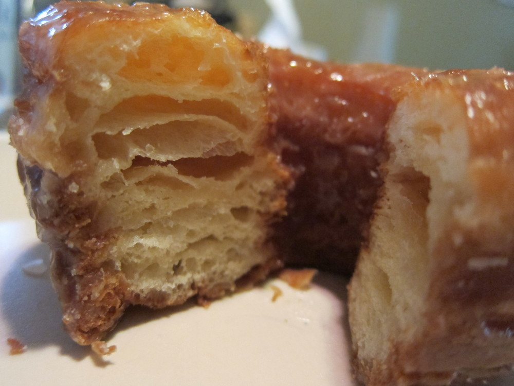 Look at those flaky, buttery, glazed cronuttery layers  (Photo by Lauren Lloyd)