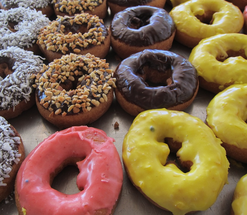 Vegan cake doughnuts (Photo by Lauren Lloyd)