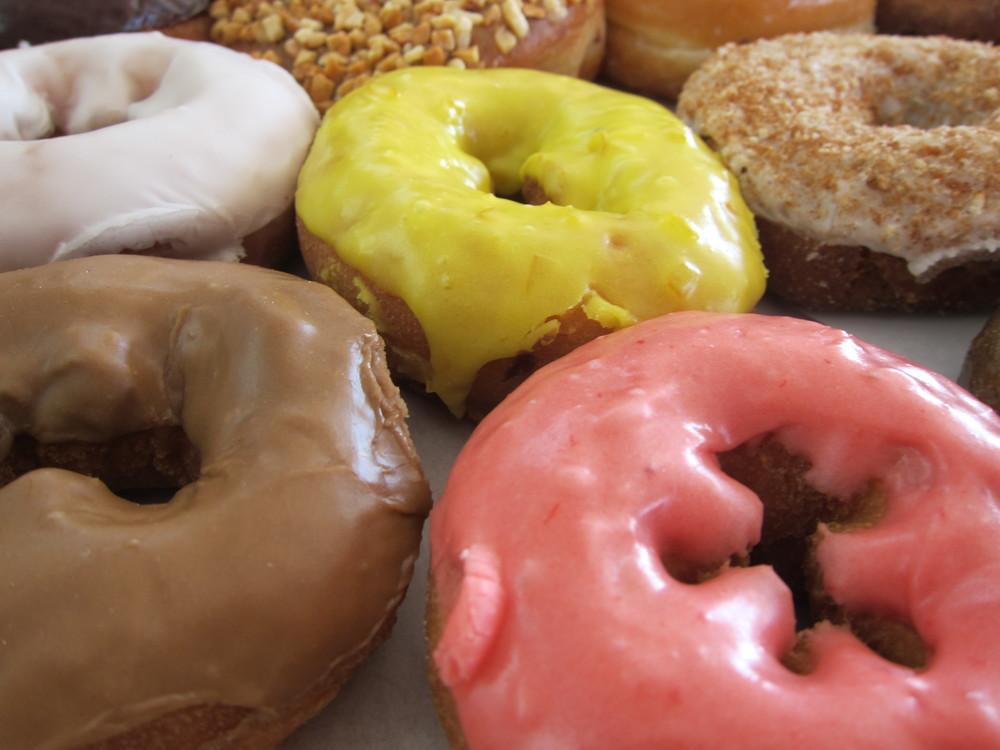 More vegan cake doughnuts (Photo by Lauren Lloyd)