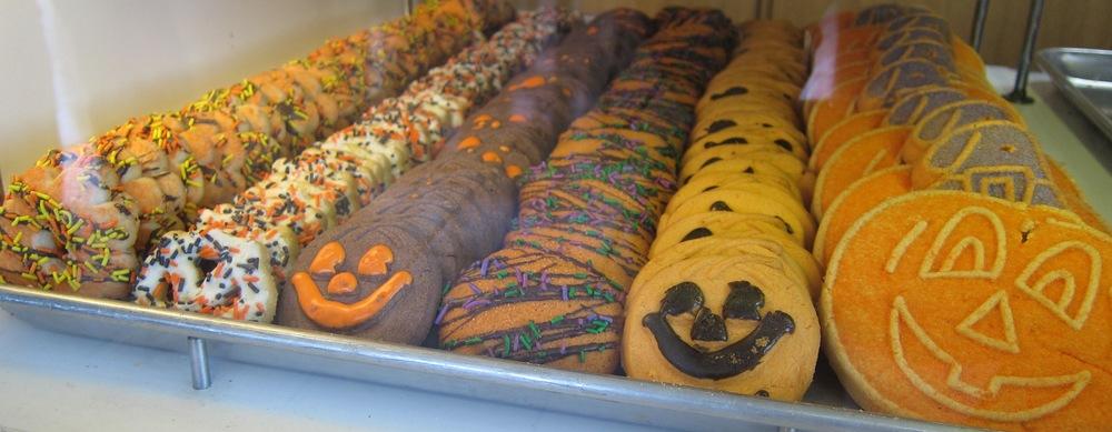 Halloween cookies (Photo by Lauren Lloyd)
