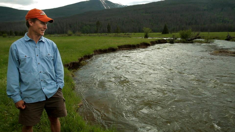 Jeff Ehlert, fly fishing and river rafting guide in Colorado, in Watershed. (Photo via Facebook)