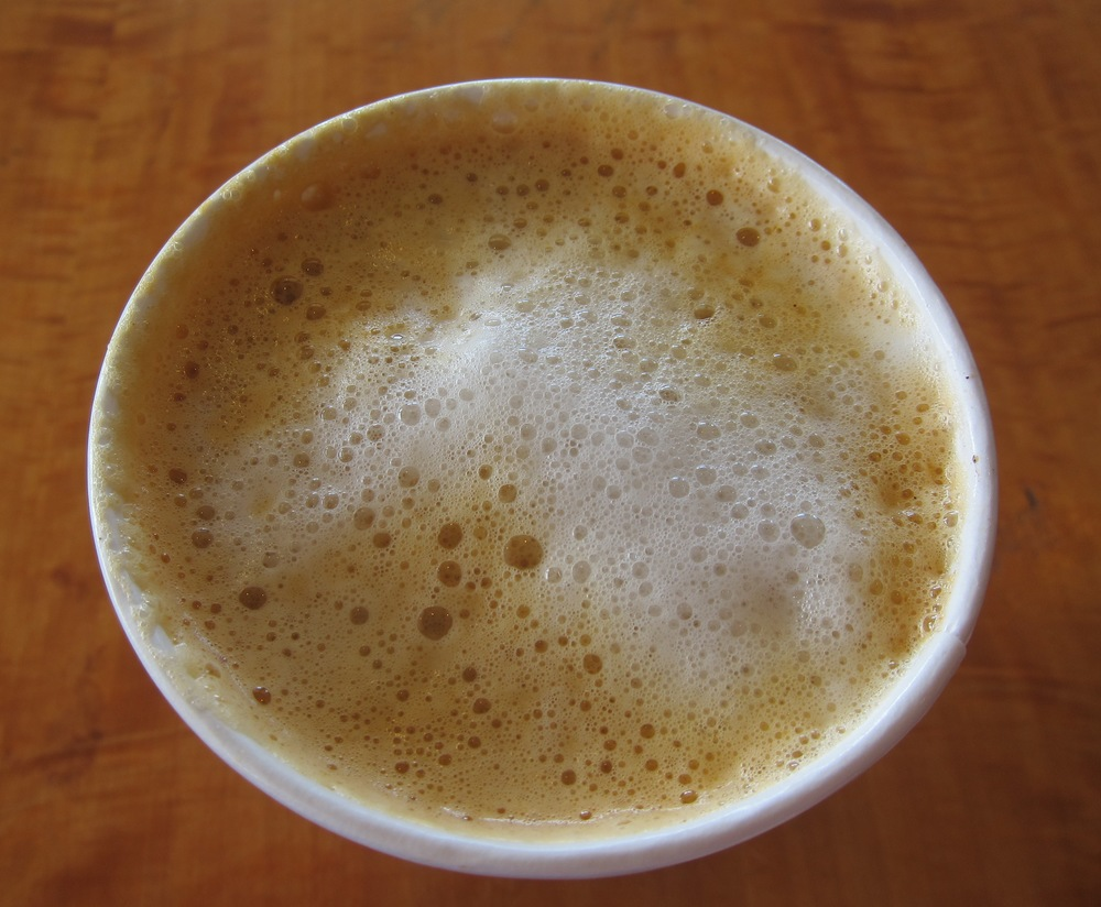 Pumpkin latte at Coffee Bean & Tea Leaf (Photo by Lauren Lloyd)