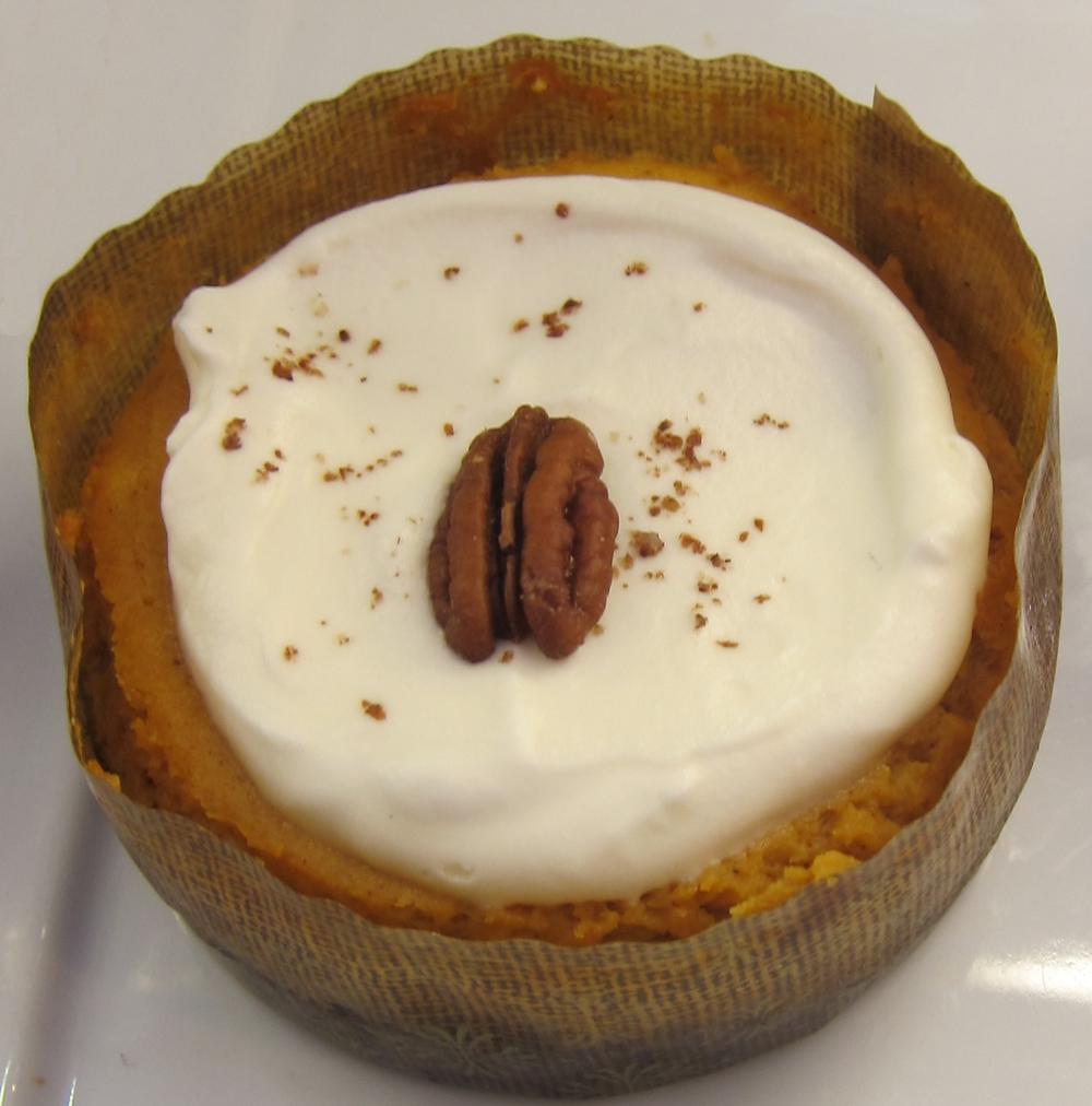Pumpkin cheesecake at Baguetier Bakery(Photo by Lauren Lloyd)
