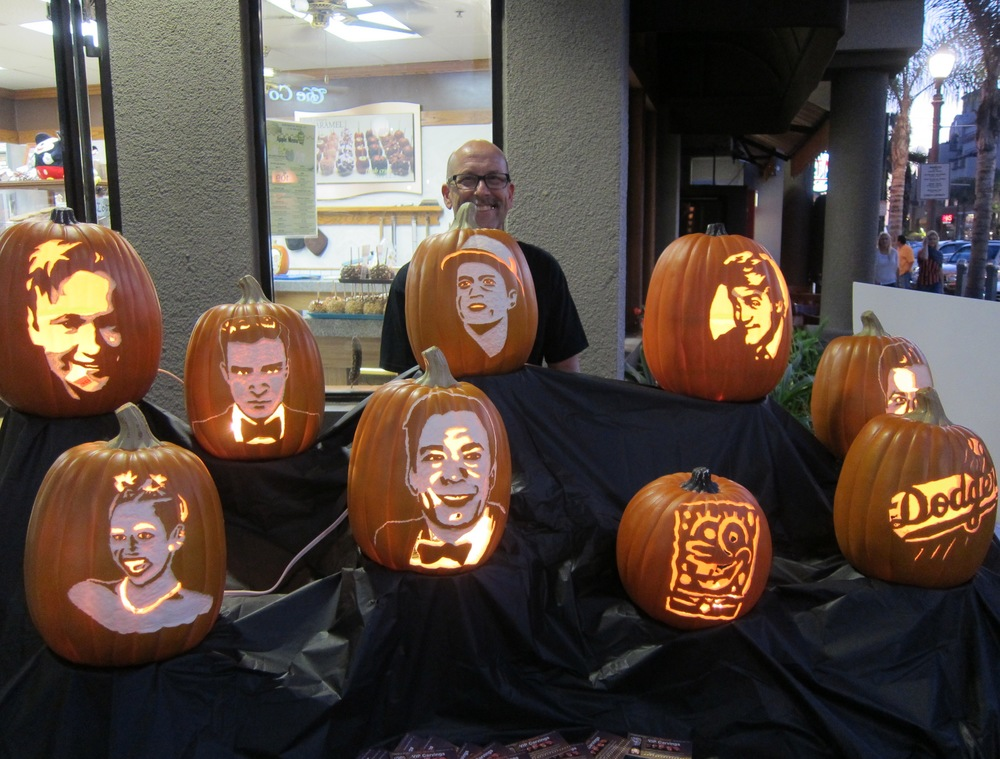 VIP Carvings  by Jim Morey    ( Photo by Lauren Lloyd)