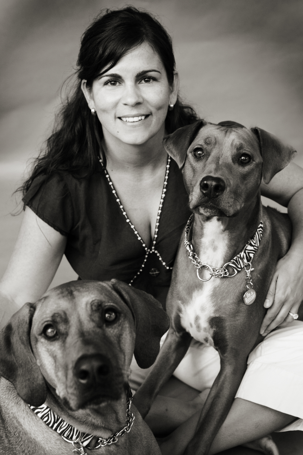 Lola & Foxy Founder Pamela Trainer, pictured with Lola, 9, and Stella, 7. (Photo courtesy of Pamela Trainer)