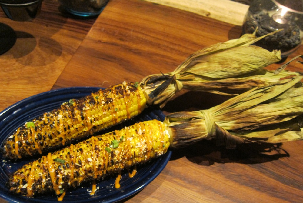 Grilled corn elote  (Photo by Lauren Lloyd)